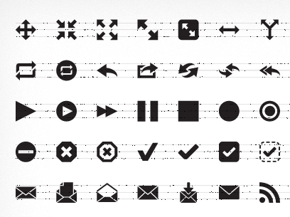 pictos font icons