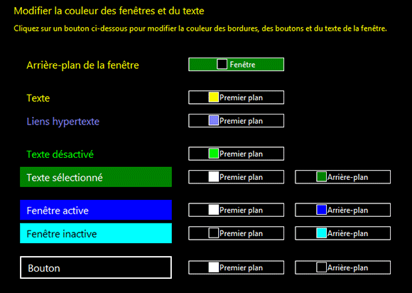 Windows 8 pour les personnes aveugles et malvoyantes for Fenetre windows 8