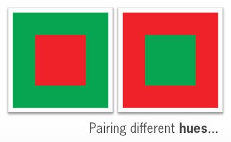 rode en groene vierkanten