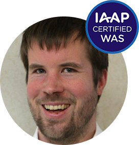 Profile picture of Bart with the label IAAP WAS certified
