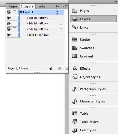 omgekeerde volgorde elementen in layers panel
